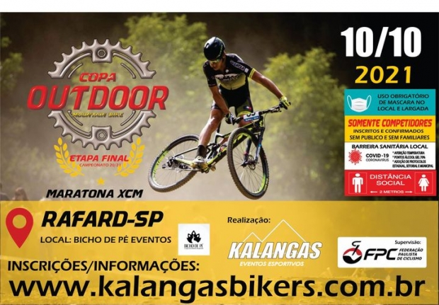 21/02 - COPA OUTDOOR MTB - RAFARD-SP